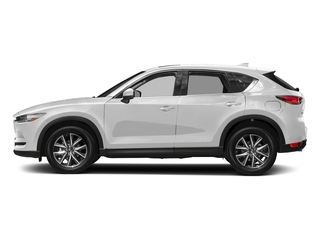 Snowflake White Pearl Mica 2017 Mazda CX-5 Pictures CX-5 Grand Touring FWD photos side view