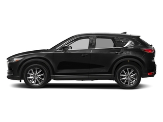 Jet Black Mica 2017 Mazda CX-5 Pictures CX-5 Grand Touring FWD photos side view