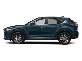 Deep Crystal Blue Mica 2017 Mazda CX-5 Pictures CX-5 Grand Touring FWD photos side view