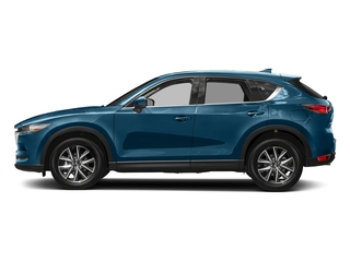 Eternal Blue Mica 2017 Mazda CX-5 Pictures CX-5 Grand Touring FWD photos side view