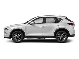 Snowflake White Pearl Mica 2017 Mazda CX-5 Pictures CX-5 Utility 4D Grand Select 2WD photos side view