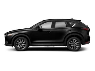 Jet Black Mica 2017 Mazda CX-5 Pictures CX-5 Grand Select FWD photos side view