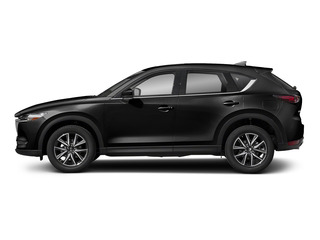 Jet Black Mica 2017 Mazda CX-5 Pictures CX-5 Utility 4D Grand Select 2WD photos side view