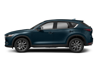 Deep Crystal Blue Mica 2017 Mazda CX-5 Pictures CX-5 Utility 4D Grand Select 2WD photos side view