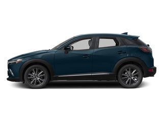 Deep Crystal Blue Mica 2017 Mazda CX-3 Pictures CX-3 Utility 4D GT AWD I4 photos side view
