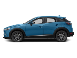 Dynamic Blue Mica 2017 Mazda CX-3 Pictures CX-3 Utility 4D GT AWD I4 photos side view