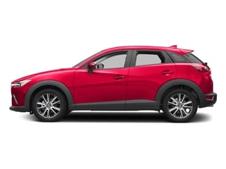 Soul Red Metallic 2017 Mazda CX-3 Pictures CX-3 Touring FWD photos side view