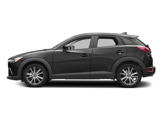 Jet Black Mica 2017 Mazda CX-3 Pictures CX-3 Touring FWD photos side view