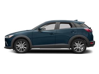 Deep Crystal Blue Mica 2017 Mazda CX-3 Pictures CX-3 Touring FWD photos side view
