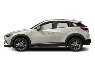 Crystal White Pearl Mica 2017 Mazda CX-3 Pictures CX-3 Utility 4D GT 2WD I4 photos side view
