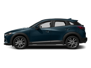 Deep Crystal Blue Mica 2017 Mazda CX-3 Pictures CX-3 Utility 4D GT 2WD I4 photos side view