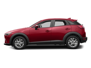 Soul Red Metallic 2017 Mazda CX-3 Pictures CX-3 Utility 4D Sport AWD I4 photos side view