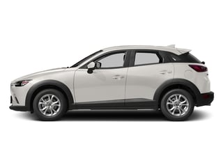 Crystal White Pearl Mica 2017 Mazda CX-3 Pictures CX-3 Utility 4D Sport 2WD I4 photos side view