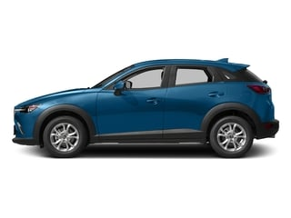 Dynamic Blue Mica 2017 Mazda CX-3 Pictures CX-3 Utility 4D Sport 2WD I4 photos side view