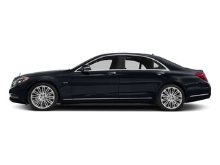 Anthracite Blue Metallic 2017 Mercedes-Benz S-Class Pictures S-Class S 600 Sedan photos side view