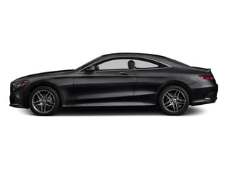 Black 2017 Mercedes-Benz S-Class Pictures S-Class S 550 4MATIC Coupe photos side view