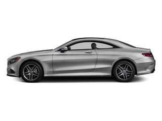 designo Magno Alanite Grey (Matte Finish) 2017 Mercedes-Benz S-Class Pictures S-Class S 550 4MATIC Coupe photos side view