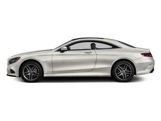 designo Magno Cashmere White (Matte Finish) 2017 Mercedes-Benz S-Class Pictures S-Class Coupe 2D S550 AWD V8 Turbo photos side view