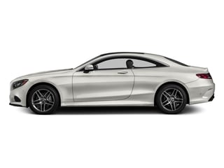 designo Magno Cashmere White (Matte Finish) 2017 Mercedes-Benz S-Class Pictures S-Class S 550 4MATIC Coupe photos side view