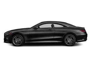 Magnetite Black Metallic 2017 Mercedes-Benz S-Class Pictures S-Class S 550 4MATIC Coupe photos side view