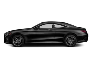 Obsidian Black Metallic 2017 Mercedes-Benz S-Class Pictures S-Class S 550 4MATIC Coupe photos side view
