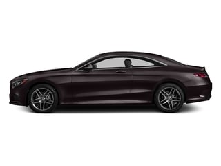 Ruby Black Metallic 2017 Mercedes-Benz S-Class Pictures S-Class S 550 4MATIC Coupe photos side view