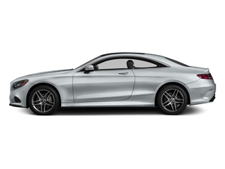 Diamond Silver Metallic 2017 Mercedes-Benz S-Class Pictures S-Class S 550 4MATIC Coupe photos side view