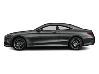 Selenite Grey Metallic 2017 Mercedes-Benz S-Class Pictures S-Class Coupe 2D S550 AWD V8 Turbo photos side view