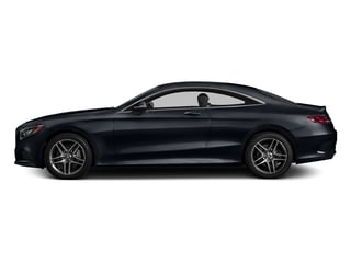 Anthracite Blue Metallic 2017 Mercedes-Benz S-Class Pictures S-Class S 550 4MATIC Coupe photos side view