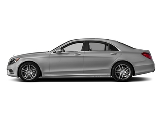 designo Magno Alanite Grey (Matte Finish) 2017 Mercedes-Benz S-Class Pictures S-Class S 550 Sedan photos side view