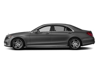 Iridium Silver Metallic 2017 Mercedes-Benz S-Class Pictures S-Class Sedan 4D S550 V8 Turbo photos side view