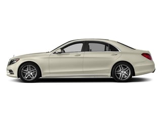 designo Diamond White Metallic 2017 Mercedes-Benz S-Class Pictures S-Class Sedan 4D S550 V8 Turbo photos side view