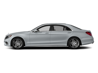 Diamond Silver Metallic 2017 Mercedes-Benz S-Class Pictures S-Class S 550 Sedan photos side view