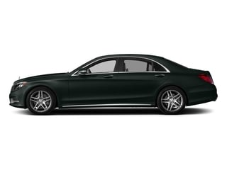 Emerald Green Metallic 2017 Mercedes-Benz S-Class Pictures S-Class Sedan 4D S550 V8 Turbo photos side view