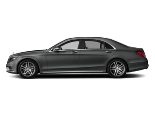 Selenite Grey Metallic 2017 Mercedes-Benz S-Class Pictures S-Class S 550 Sedan photos side view