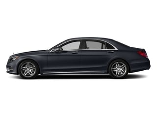 Anthracite Blue Metallic 2017 Mercedes-Benz S-Class Pictures S-Class Sedan 4D S550 V8 Turbo photos side view
