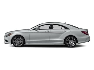 Iridium Silver Metallic 2017 Mercedes-Benz CLS Pictures CLS CLS 550 Coupe photos side view