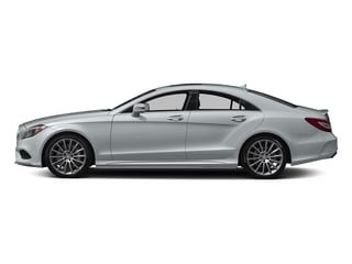 Diamond Silver Metallic 2017 Mercedes-Benz CLS Pictures CLS CLS 550 Coupe photos side view