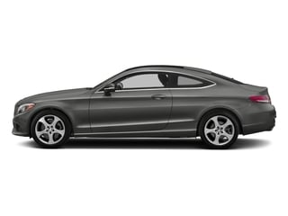 designo Selenite Grey Magno (Matte Finish) 2017 Mercedes-Benz C-Class Pictures C-Class Coupe 2D C300 AWD photos side view
