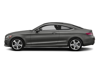 designo Selenite Grey Magno (Matte Finish) 2017 Mercedes-Benz C-Class Pictures C-Class C 300 Coupe photos side view