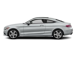 Iridium Silver Metallic 2017 Mercedes-Benz C-Class Pictures C-Class Coupe 2D C300 AWD photos side view