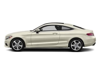 designo Diamond White Metallic 2017 Mercedes-Benz C-Class Pictures C-Class Coupe 2D C300 AWD photos side view