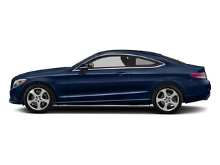 Brilliant Blue Metallic 2017 Mercedes-Benz C-Class Pictures C-Class C 300 Coupe photos side view