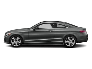 Selenite Grey Metallic 2017 Mercedes-Benz C-Class Pictures C-Class C 300 Coupe photos side view