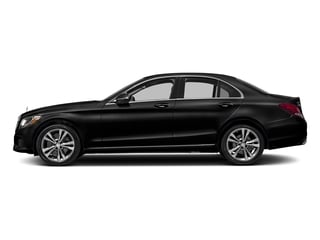 Obsidian Black Metallic 2017 Mercedes-Benz C-Class Pictures C-Class Sedan 4D C300 AWD I4 Turbo photos side view