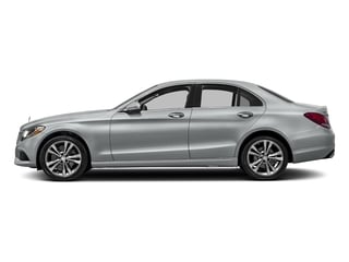 Iridium Silver Metallic 2017 Mercedes-Benz C-Class Pictures C-Class Sedan 4D C300 AWD I4 Turbo photos side view