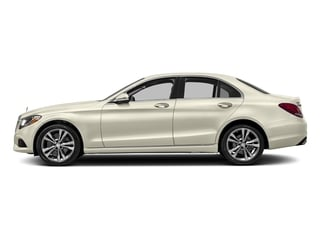 designo Diamond White Metallic 2017 Mercedes-Benz C-Class Pictures C-Class Sedan 4D C300 AWD I4 Turbo photos side view