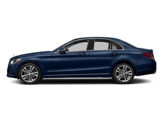 Brilliant Blue Metallic 2017 Mercedes-Benz C-Class Pictures C-Class Sedan 4D C300 AWD I4 Turbo photos side view