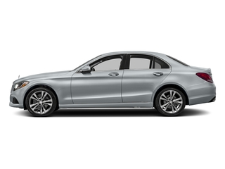 Diamond Silver Metallic 2017 Mercedes-Benz C-Class Pictures C-Class Sedan 4D C300 AWD I4 Turbo photos side view