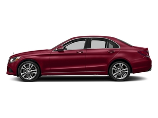 designo Cardinal Red Metallic 2017 Mercedes-Benz C-Class Pictures C-Class Sedan 4D C300 AWD I4 Turbo photos side view